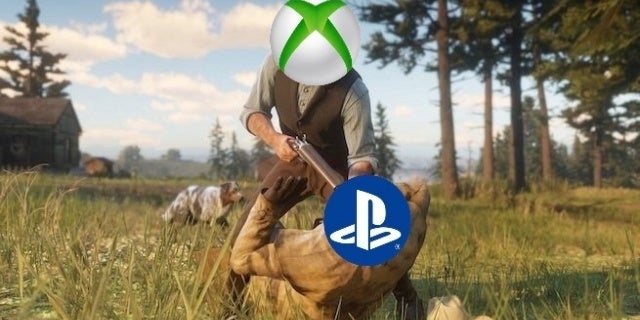 red-dead-redemption-2 console wars