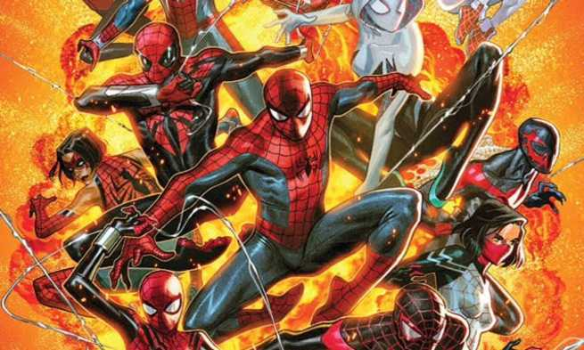 Review Spider-Geddon #1 - Cover