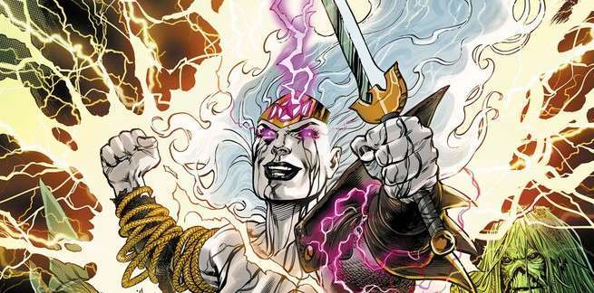 Review Wonder Woman Justice League Dark Witching Hour - Cover