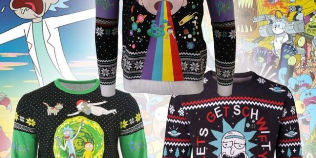 rick-and-morty-ugly-christmas-sweaters-top