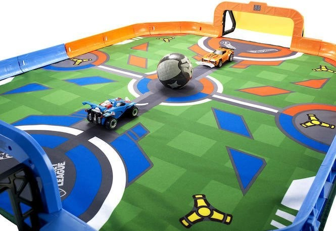 'Rocket League' Hot Wheels RC Rivals Stadium Set is Available Now