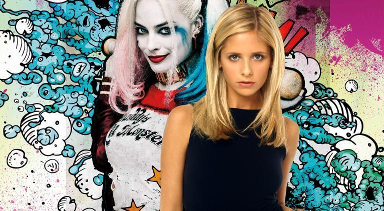 Sarah Michelle Gellar Harley Quinn