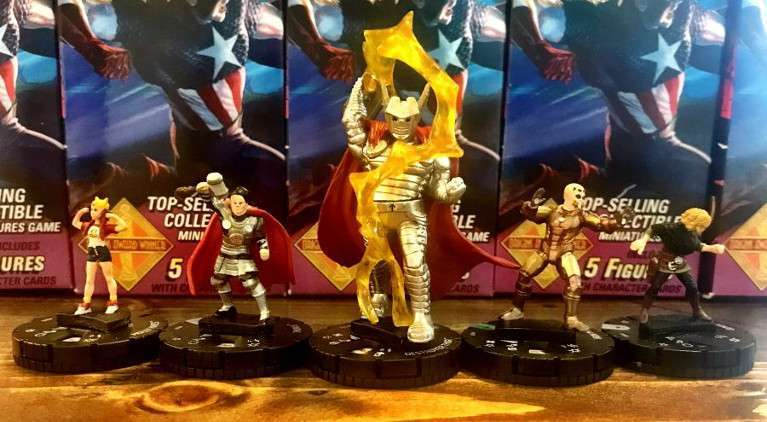 Secret Wars Battleworld HeroClix Marvel