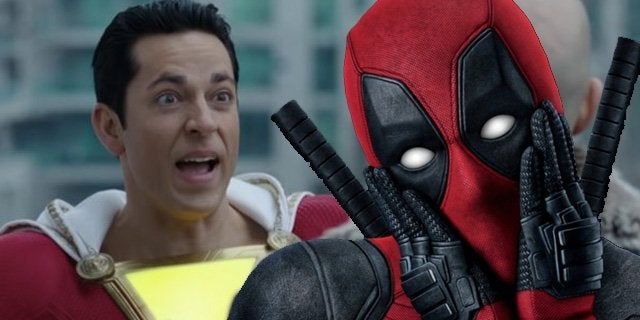 shazam deadpool zachary levi ryan reynolds