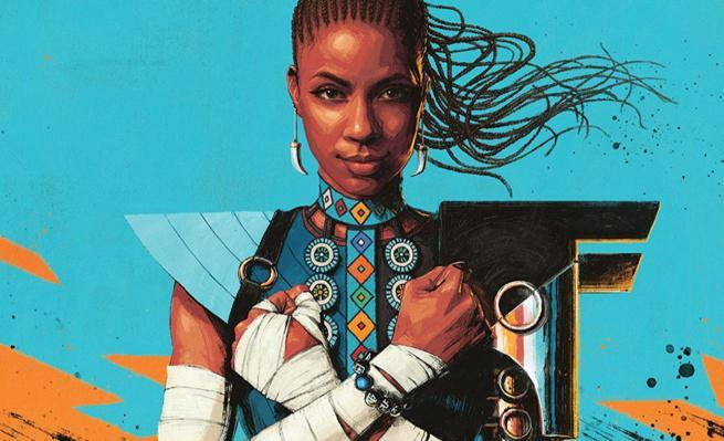 Shuri #1 Review - Cover