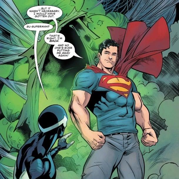 DC Comics' New 52 Superman Returns