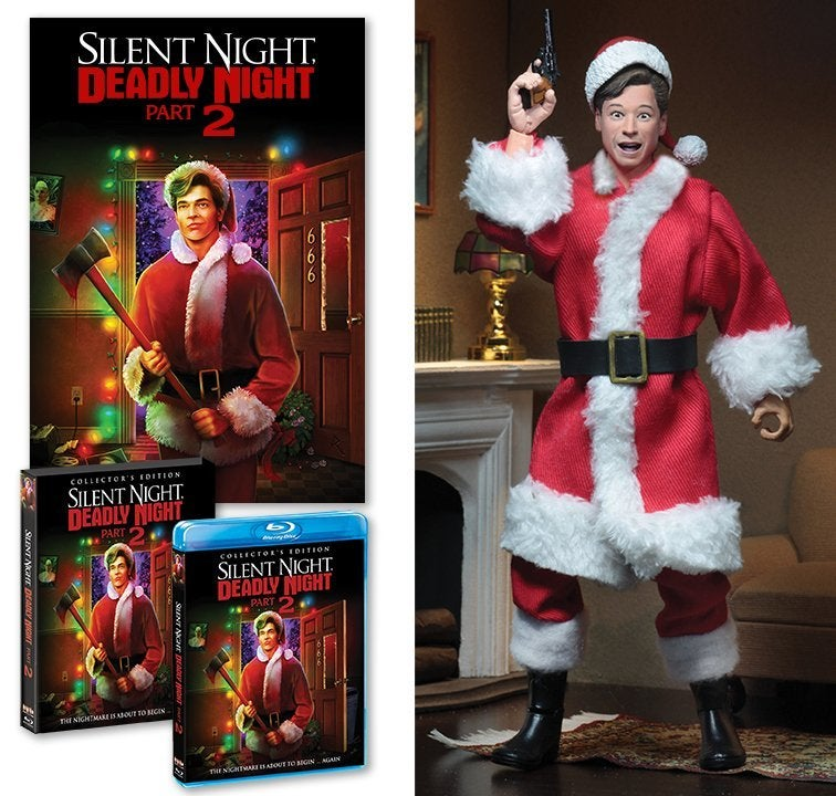 silent night deadly night 2 blu ray cover figure