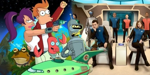 Simpsons Treehouse of Horrors Futurama Orville