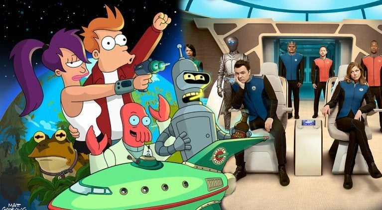 The Simpsons' Treehouse of Horror Clip Features Surprise 'Futurama