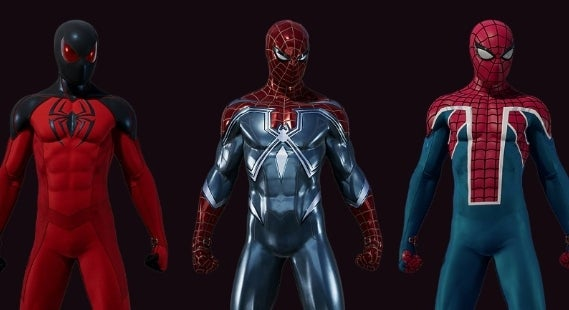 spide- suits