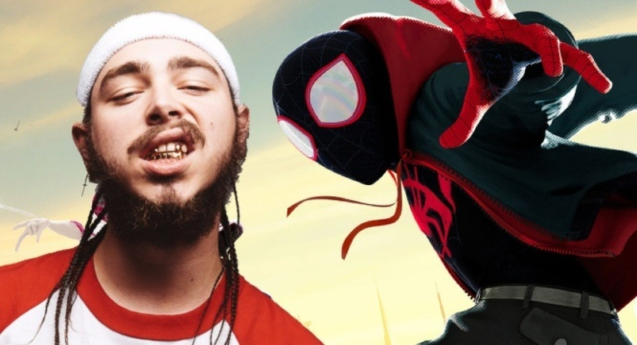Post Malone Previews His New 'Spider-Man: Into The Spider