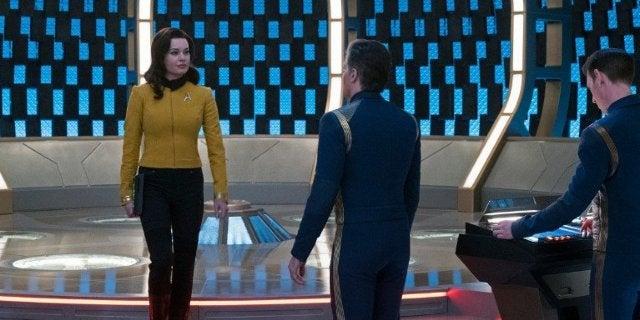 Star Trek Discovery Rebecca Romijn Number One