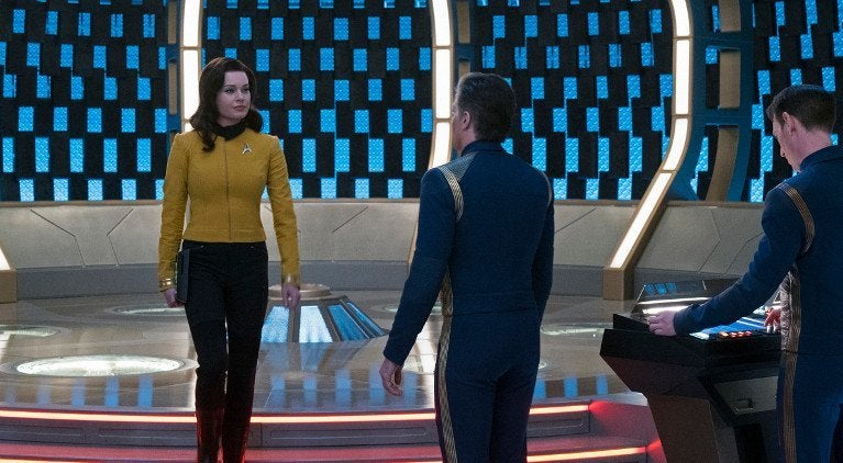 Star Trek Discovery Rebecca Romijn Number One