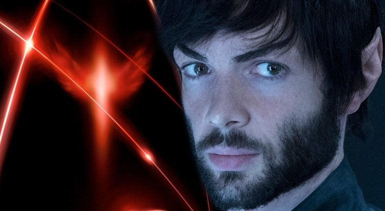 Star Trek Discovery Red Angel Spock