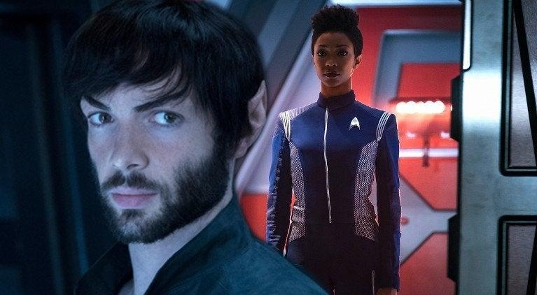 Star Trek Discovery Spock Burnham