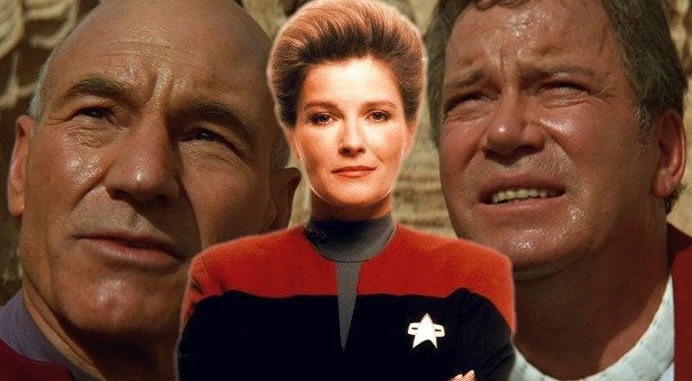 Star Trek Kirk Picard Janeway