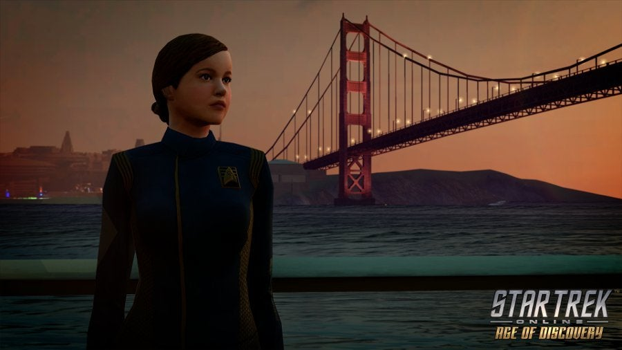 Star Trek Online Age of Discovery Sylvia Tilly Mary Wiseman