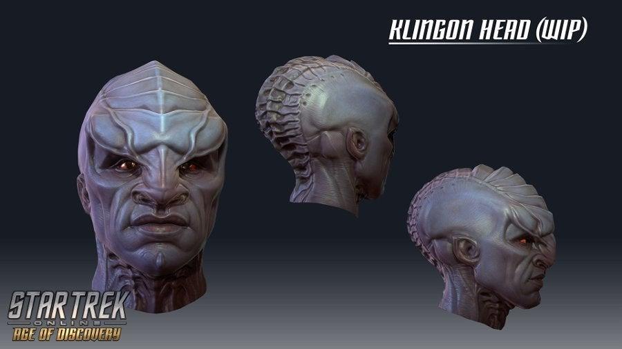 Star Trek Online Discovery klingon