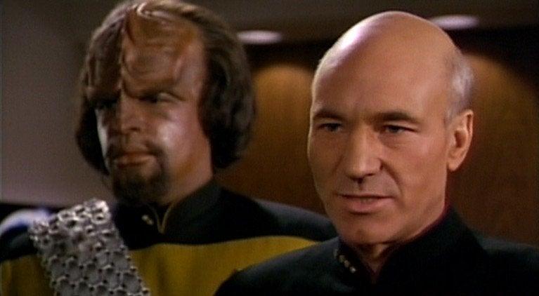 Star Trek Picard Worf Michael Dorn