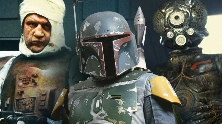 Star Wars Empire Strikes Back bounty hunters