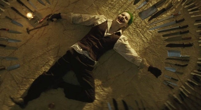 suicide squad joker knives david ayer