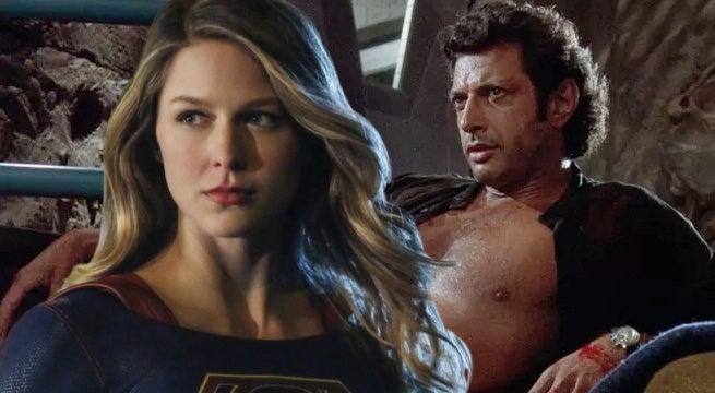 supergirl melissa benoist jeff goldblum