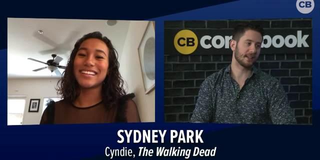 Sydney Park Talks 'The Walking Dead 9x03' screen capture