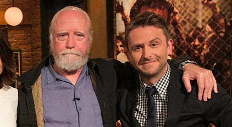Talking Dead Scott Wilson Chris Hardwick
