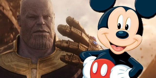 thanos mickey mouse infinity war