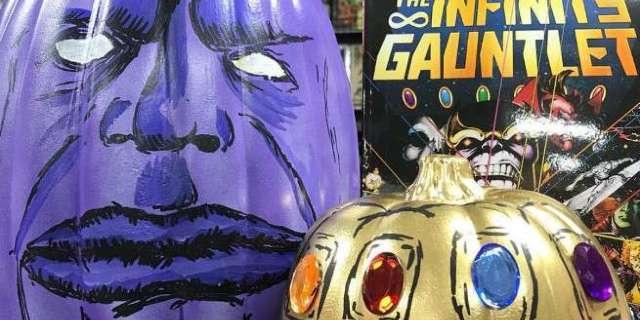 thanos pumpkin avengers 4 infinity war