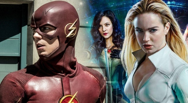 the flash season 5 legends of tomorrow