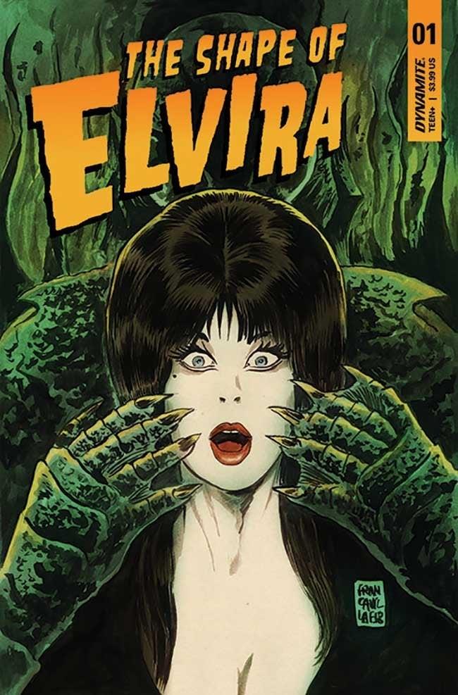 a forma de quadrinhos dinamite Elvira