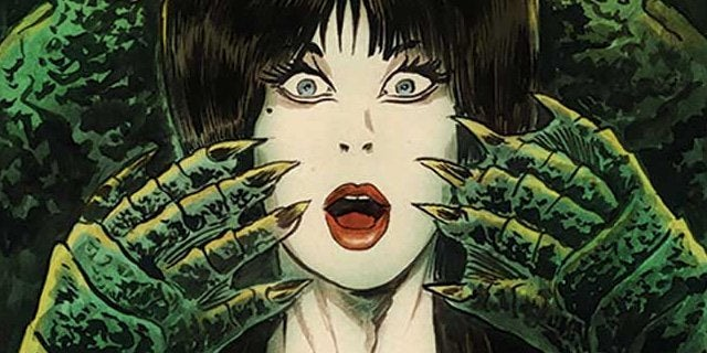 the shape of elvira dynamite comics header