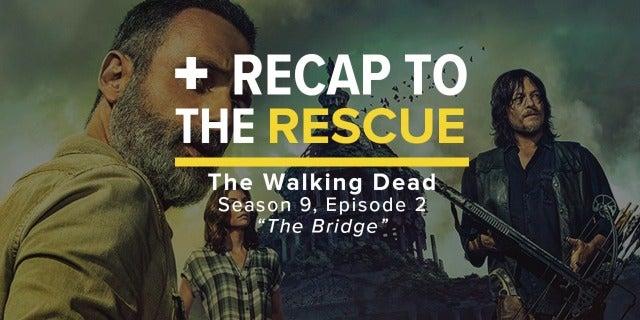 The Walking Dead Episode 9x02 Easter Egg Recap screen capture