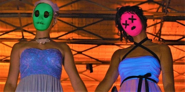 tragedy girls movie masks