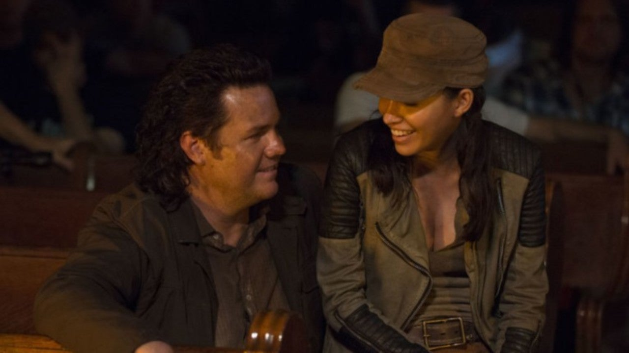The Walking Dead Star On Eugene And Rosita S Comic Romance