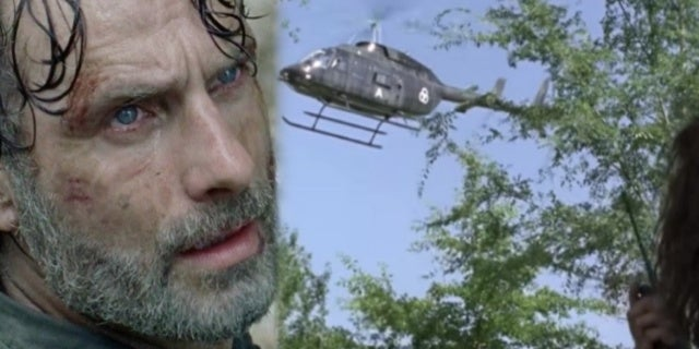 TWD Helicopter comicbookcom