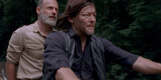 TWD Rick Daryl