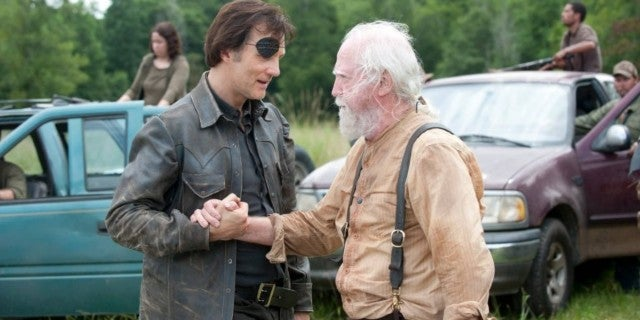 TWD Scott Wilson David Morrissey