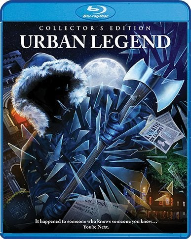 urban legend blu ray movie cover