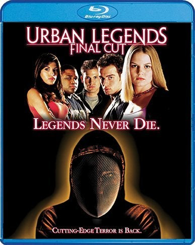 urban legends final cut blu ray movie cover