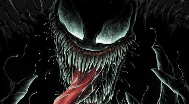 venom movie mondo posters