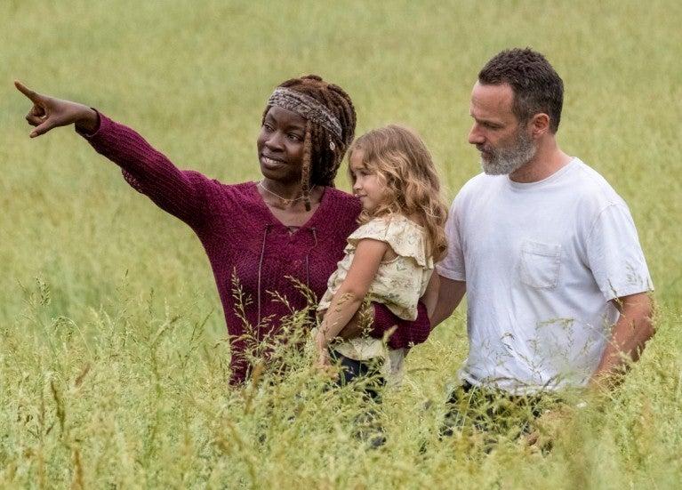 Walking Dead Grimes family