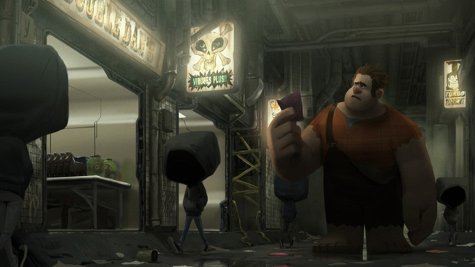 wreck it ralph 2 dark web