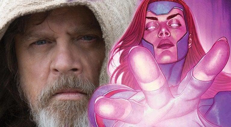 X-Men Jean Grey Luke Skywalker