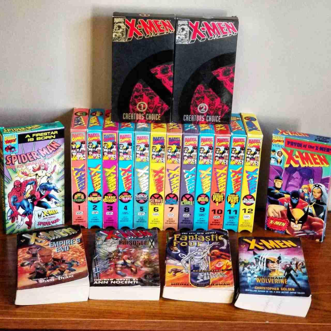 X Men Vhs Collection