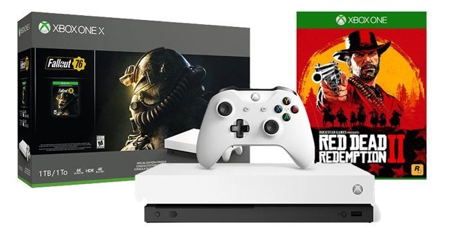 Mega Xbox One X Deal Bundles the Robot White Console, 'Fallout 76