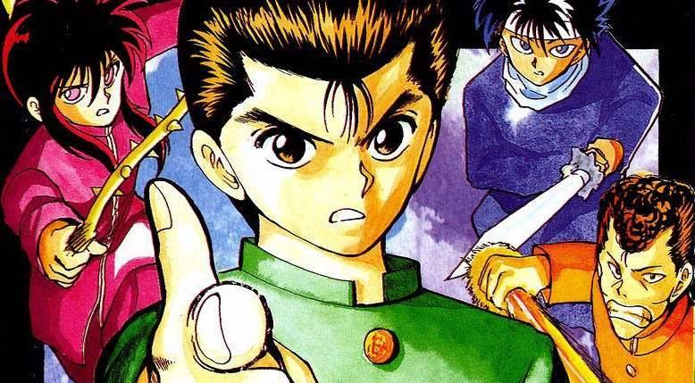 Yu-Yu-Hakusho-Manga