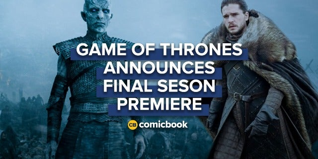'Game of Thrones' Final Season to Premiere April 2019 screen capture