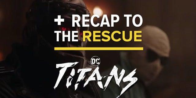 'Titans' Episode 1x04 - DC Comics Universe Easter Egg Recap screen capture